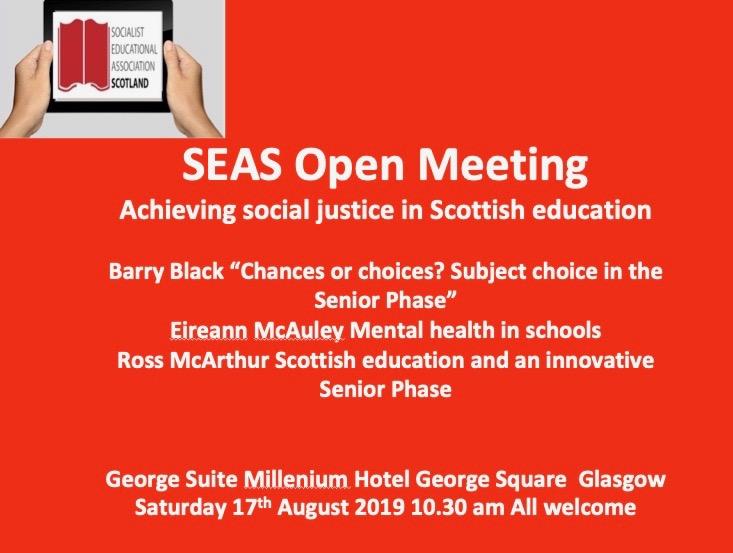 SEAS open meeting